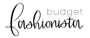 the budget fashionista logo